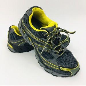 Lowa black yellow men's shoes !L